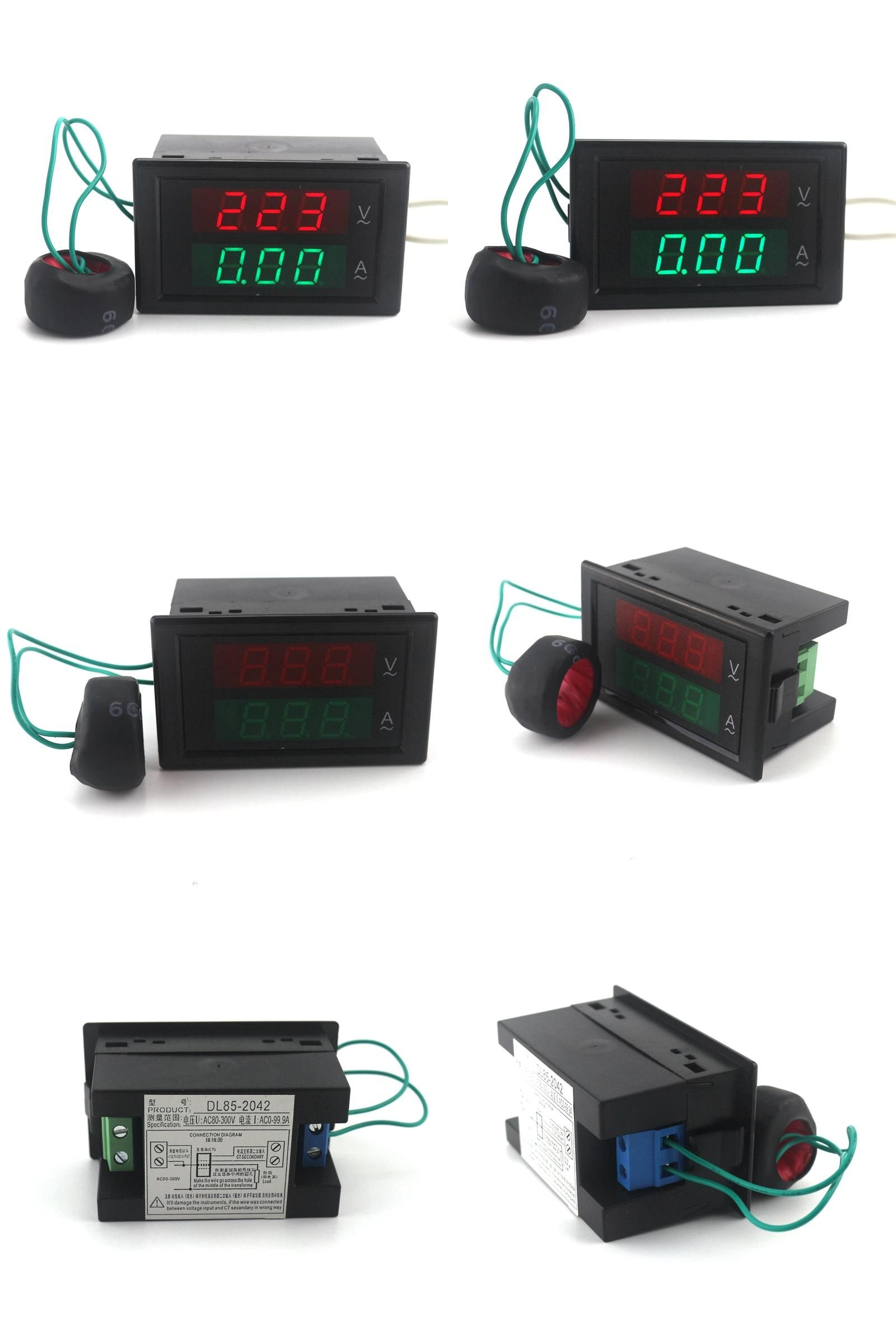 Visit To Buy Ac80 300v Ac 0 100a Led Digital Voltmeter Ammeter Panel Wiring Diagram