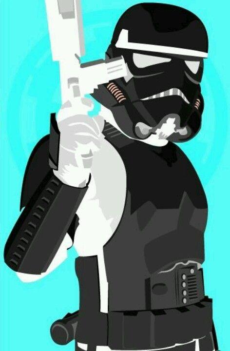 Trooper negativ