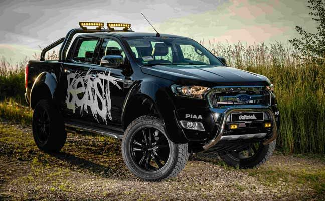 delta4x4 tuning ford ranger the beast 20 zoll felgen von delta4x4 auf denen reifen im. Black Bedroom Furniture Sets. Home Design Ideas