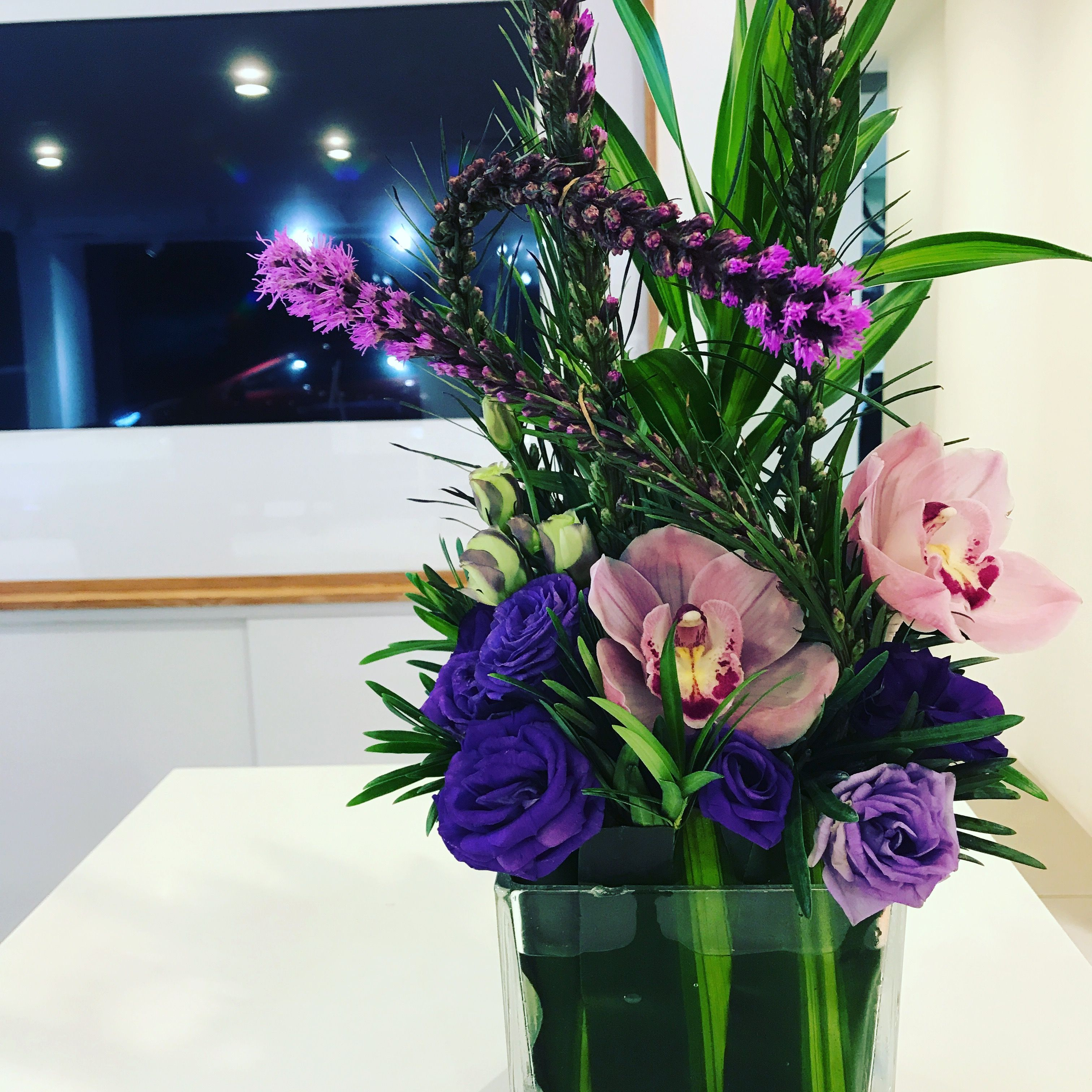 Florist Singapore Creation Office Counter Flower To Brighten Your
