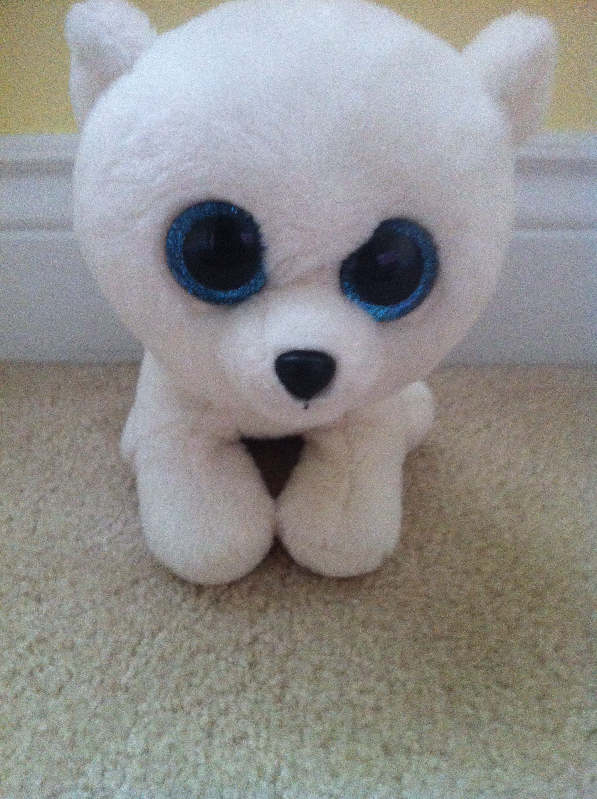 5d2a0073c4b Beanie boo polar bear arctic is his name