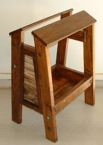 saddle stand wooden