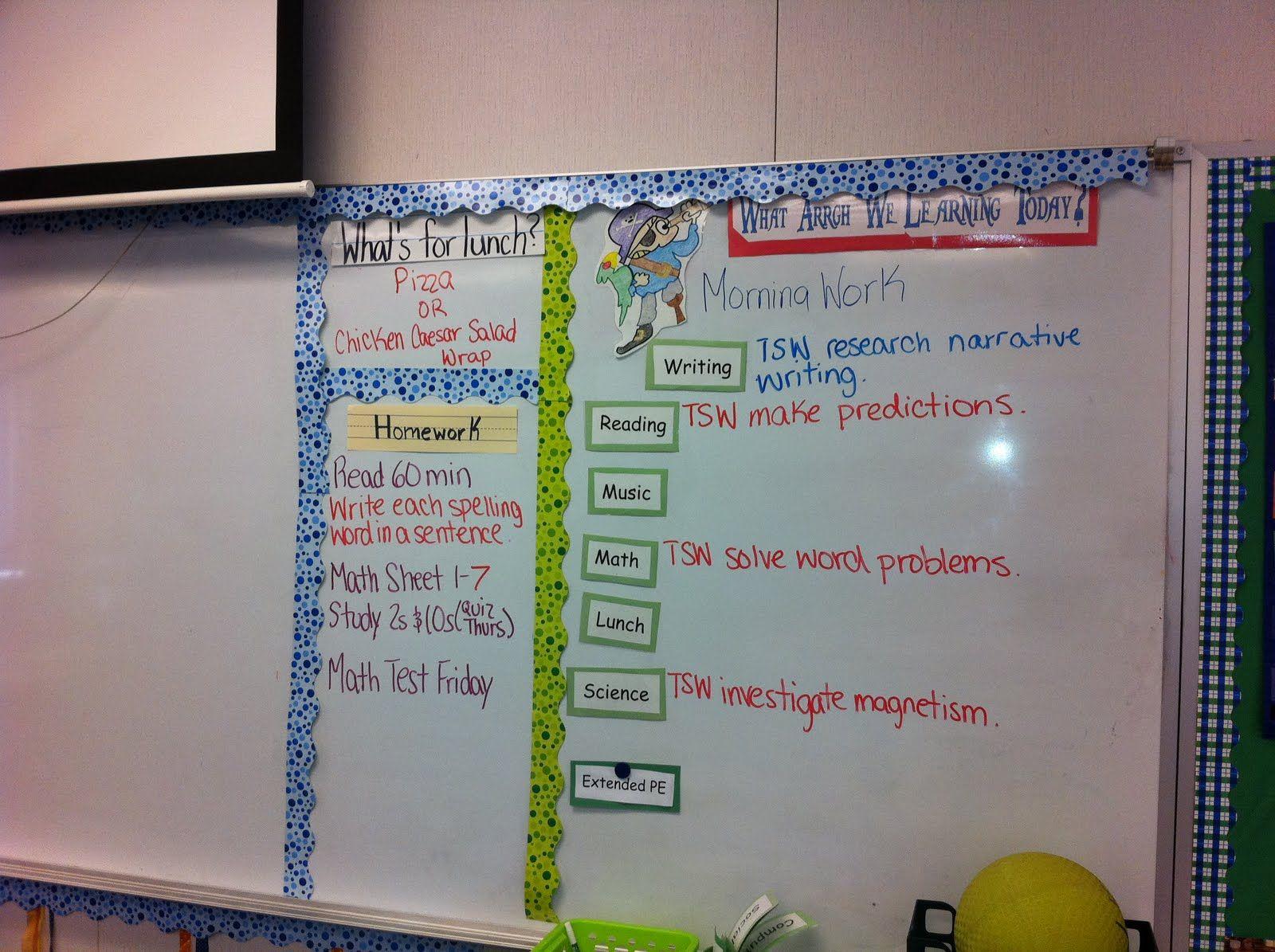 classroom whiteboard ideas. objective board idea on whiteboard! classroom whiteboard ideas