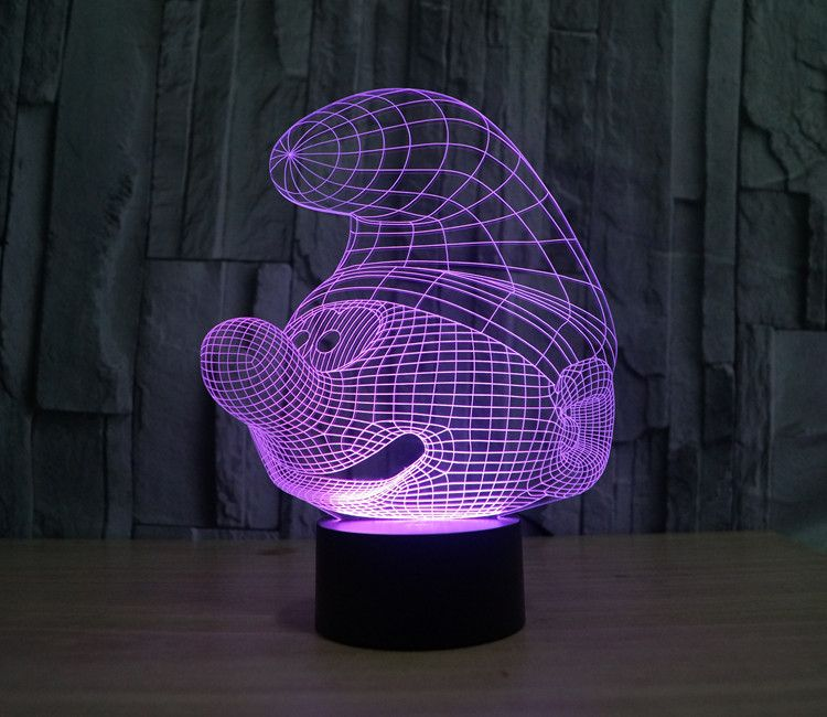 We Can Supply Different Designs Of 3d Led Lamps And Make Your Custom Design Welcome To Contact Me Star Projector Lamp Mood Lamps Led Night Lamp