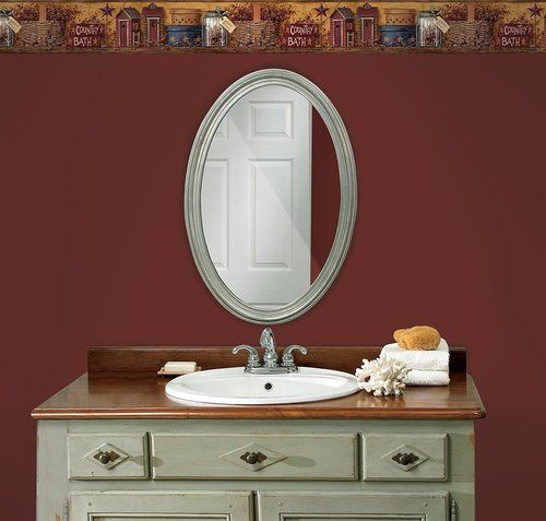 York Wallcoverings Best Of Country HK4648BD Country Bath Border