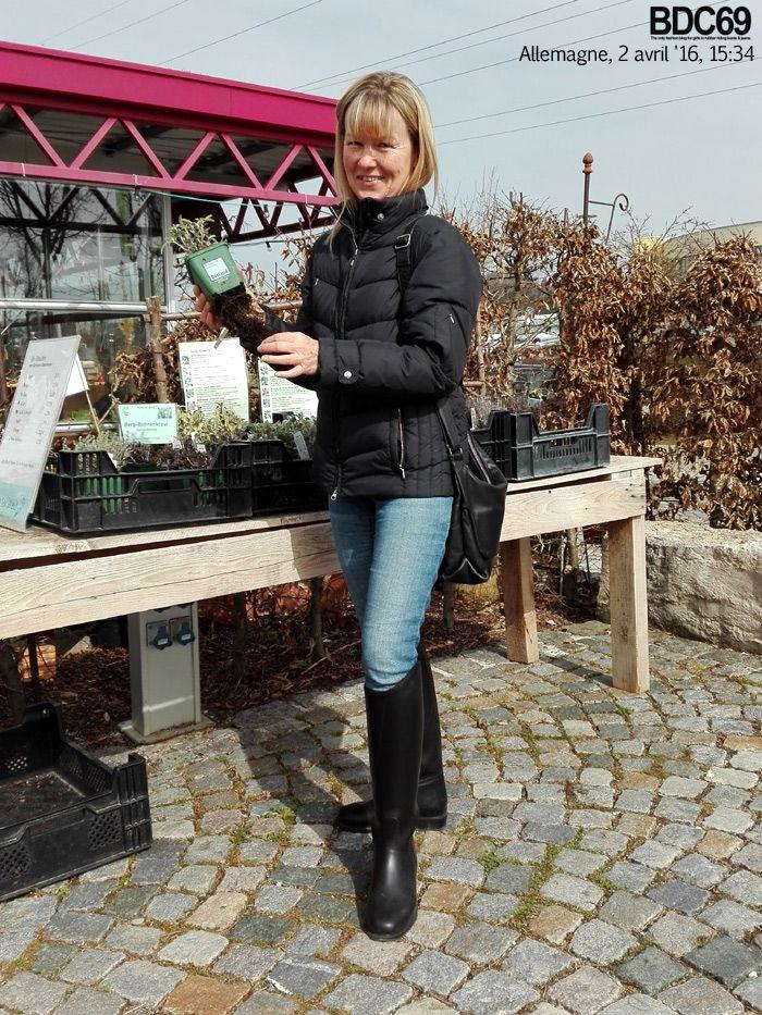 Bdc69 Carole Plantations Rubber Riding Boots