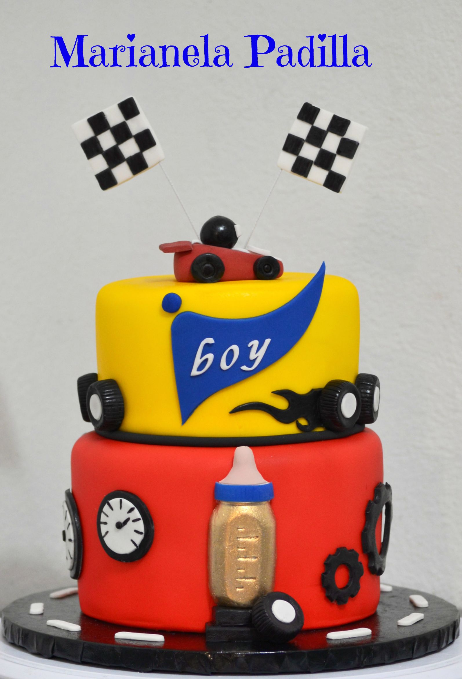 Race Car Themed Baby Shower Cake My Cakes In 2019