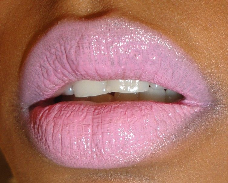 Pale Pink Lipstick | light pink topped with mac english accents ...