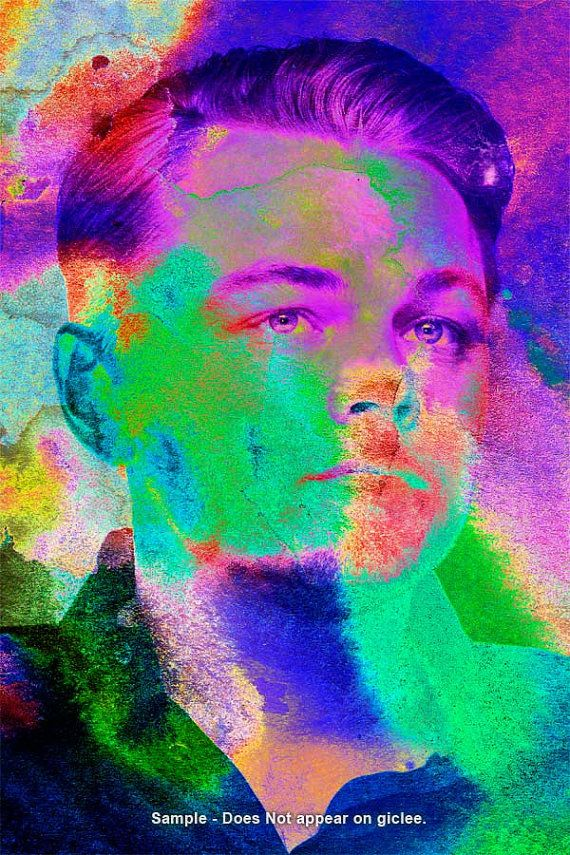 LEONARDO DICAPRIO   /// Pop  Art Giclee Print on Fine by EisnerArt, $24.00