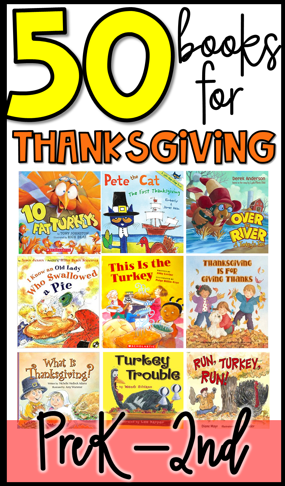 November And Thanksgiving Read Alouds And Books For Preschool