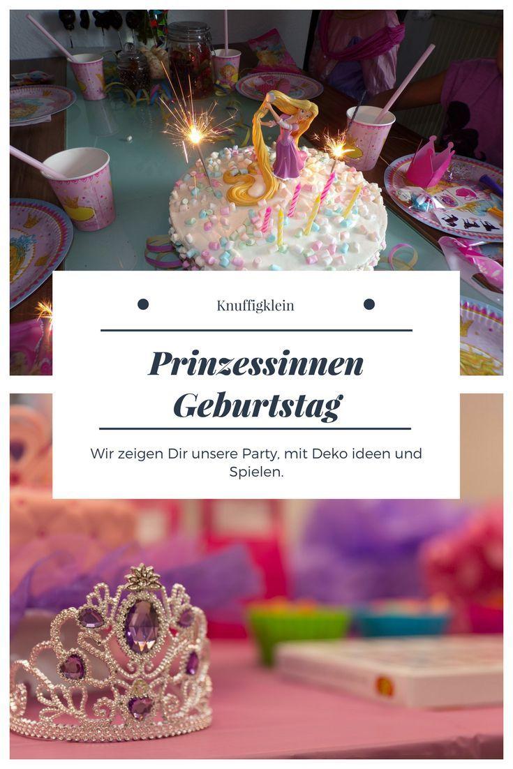 Hier Kommt Unser Prinzessin Geburtstag Wir Zeigen Euch Wie Wir Die