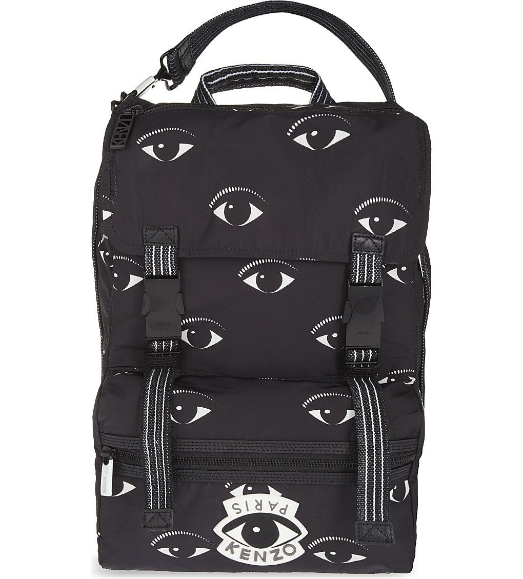 408c53ecd KENZO - Eye-print backpack | Selfridges.com | backpacks