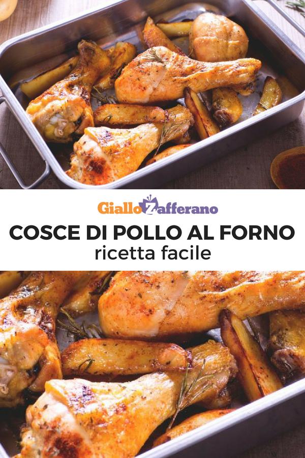 Cosce Di Pollo Al Forno Ricetta Nel 2018 In Cucina Pinterest
