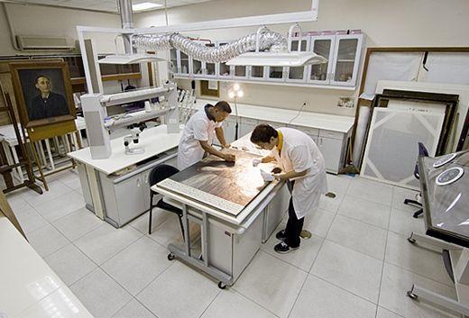 Conservation Laboratory At University Of Santo Tomas (Philippines)