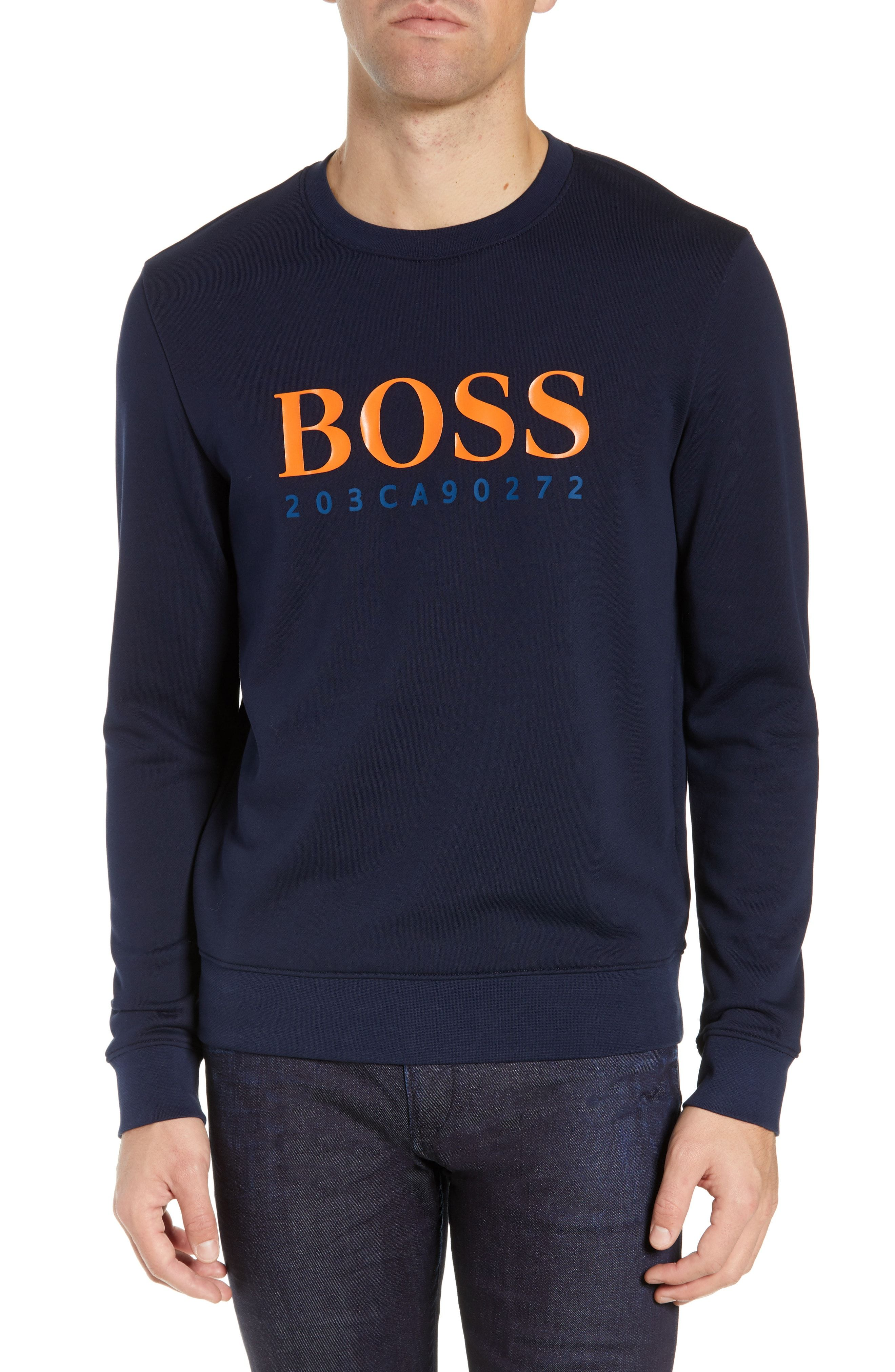 75256664f BOSS STADLER 19 CREWNECK SWEATSHIRT. #boss #cloth | Boss in 2019 ...