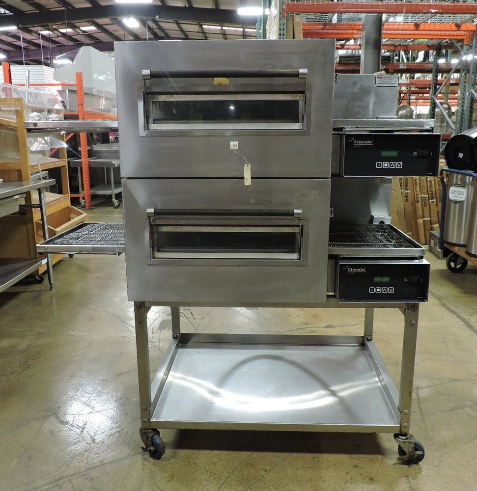 stack impinger on gas discover oven casters zeppy conveyor double lincoln us io pizza