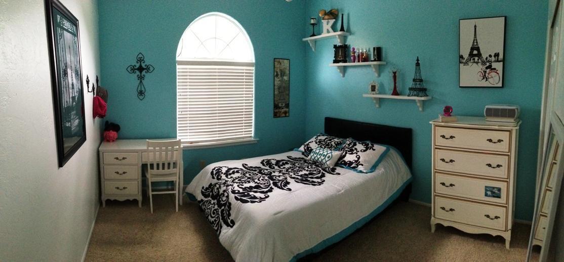 Room · Cute Paris Themed Bedroom