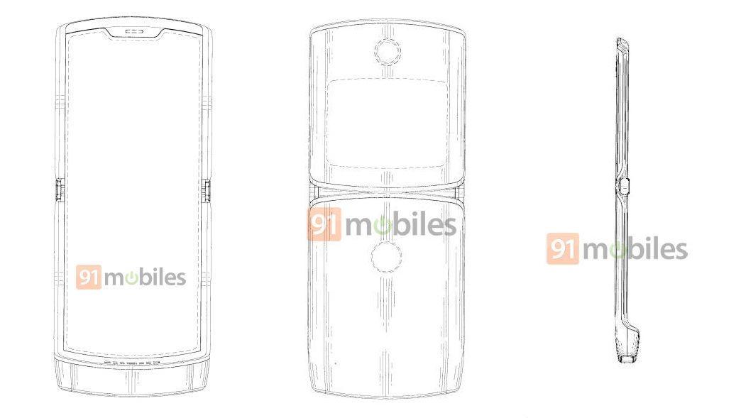 Motorola RAZR 2019 Foldable Smartphone Design Revealed in