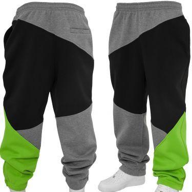 Urban Classics Zig Zag Sweatpants Sweat Pant grey black