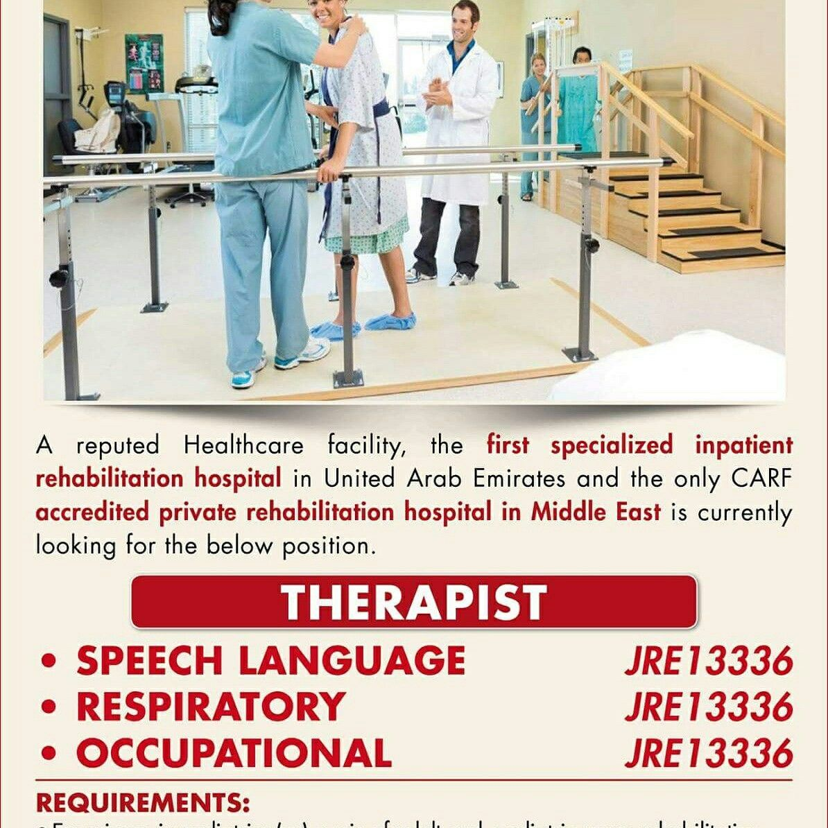 Job Opportunities for UAE - Please log on to www