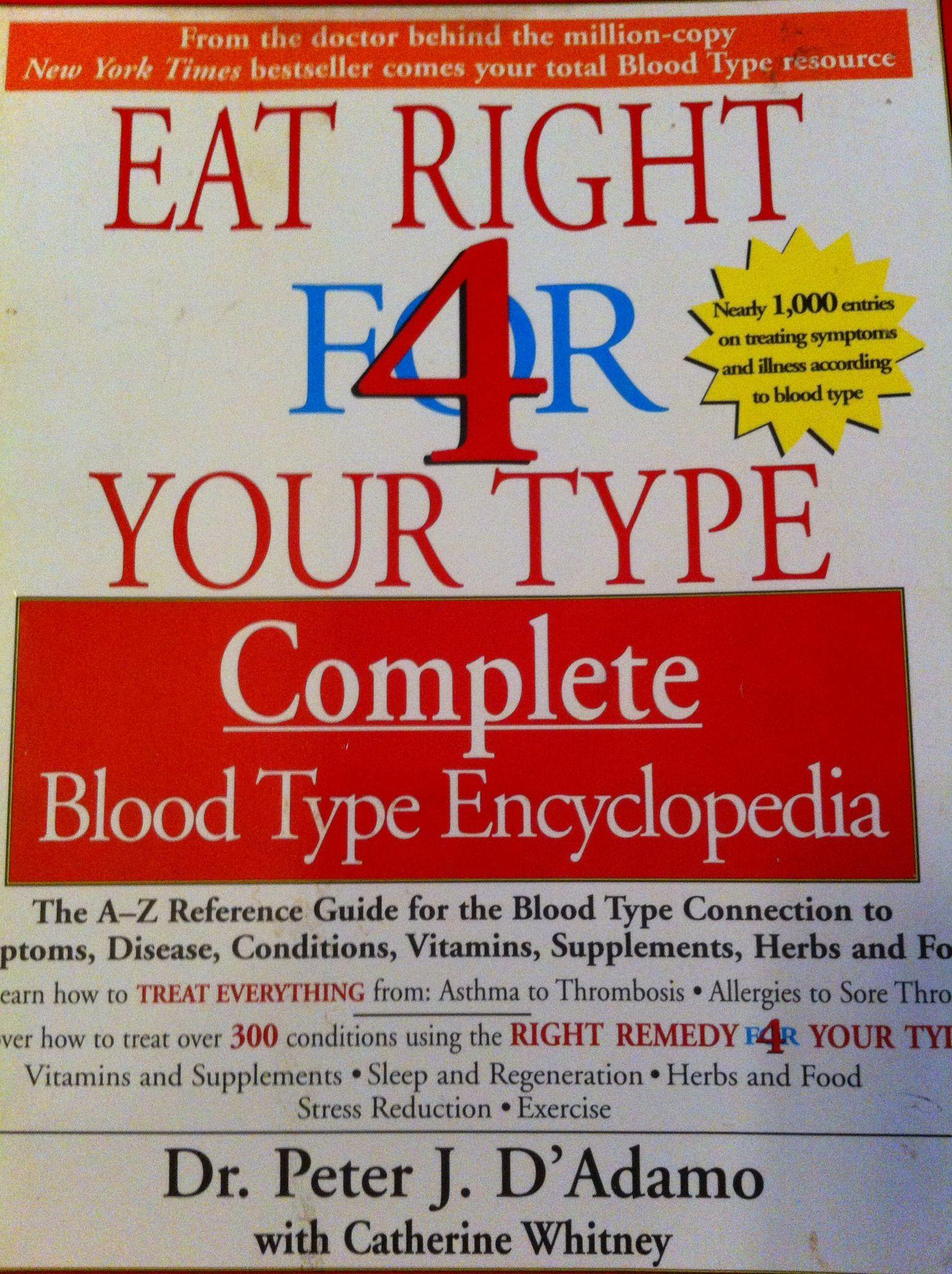 Good book to read helps in understanding blood types and diet good book to read helps in understanding blood types and diet fandeluxe Images