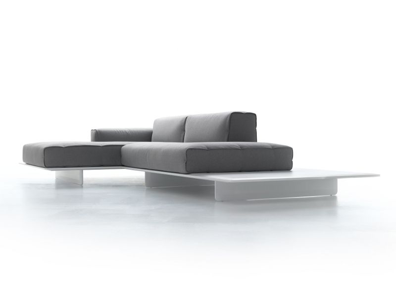 Sof composable 2 plazas con chaiselongue fin by mdf - Sofas con diseno ...