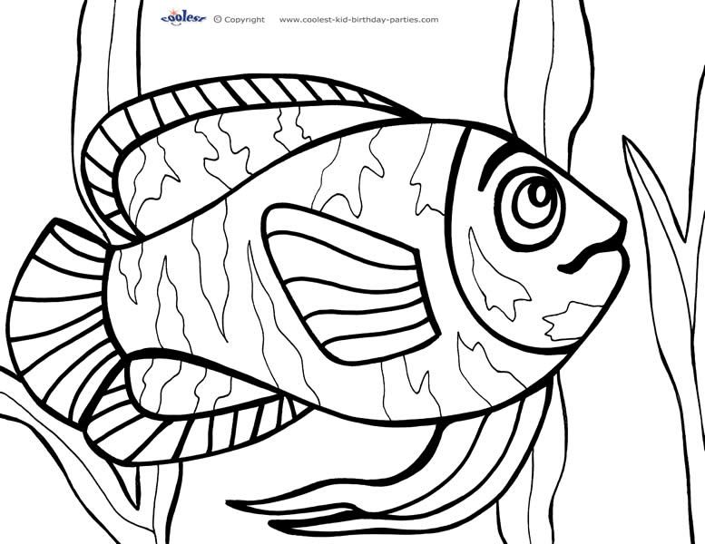 printable under the sea coloring page 2 coolest free printables - Under The Sea Coloring Pages 2