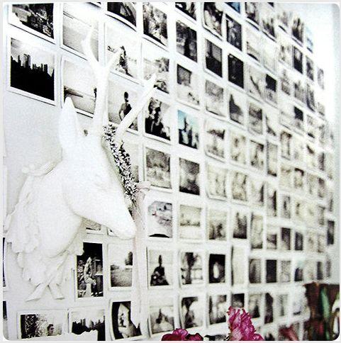 blanco y negro, decoración con fotografias, homing/blog For