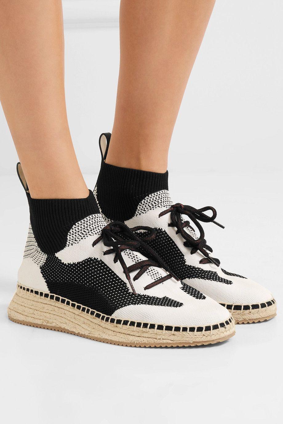 cheap sale looking for Alexander Wang Dakota Knit Espadrille Sneakers 100% authentic cheap online huge surprise sale online outlet fashion Style best seller for sale 1fFVkut1n