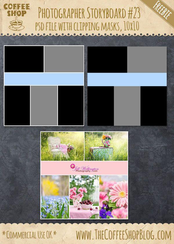 The Coffeeshop Blog Coffeeshop Photographer Storyboard Set