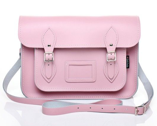 Baby I Did Pink Yes Satchel Leather Pastel By Zatchels RAjL54