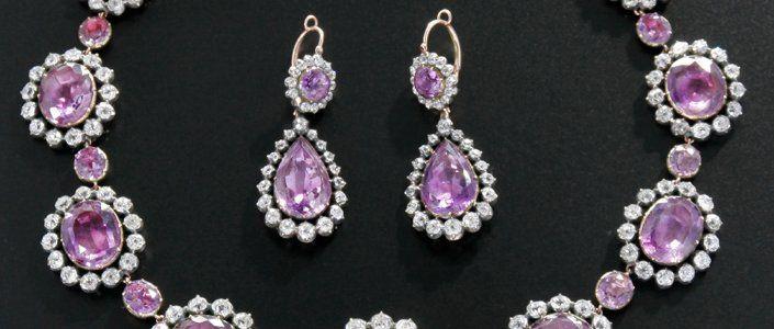 Parure amethystes et diamants - Cadeau de Napoleon a Zoe de Feltz 2