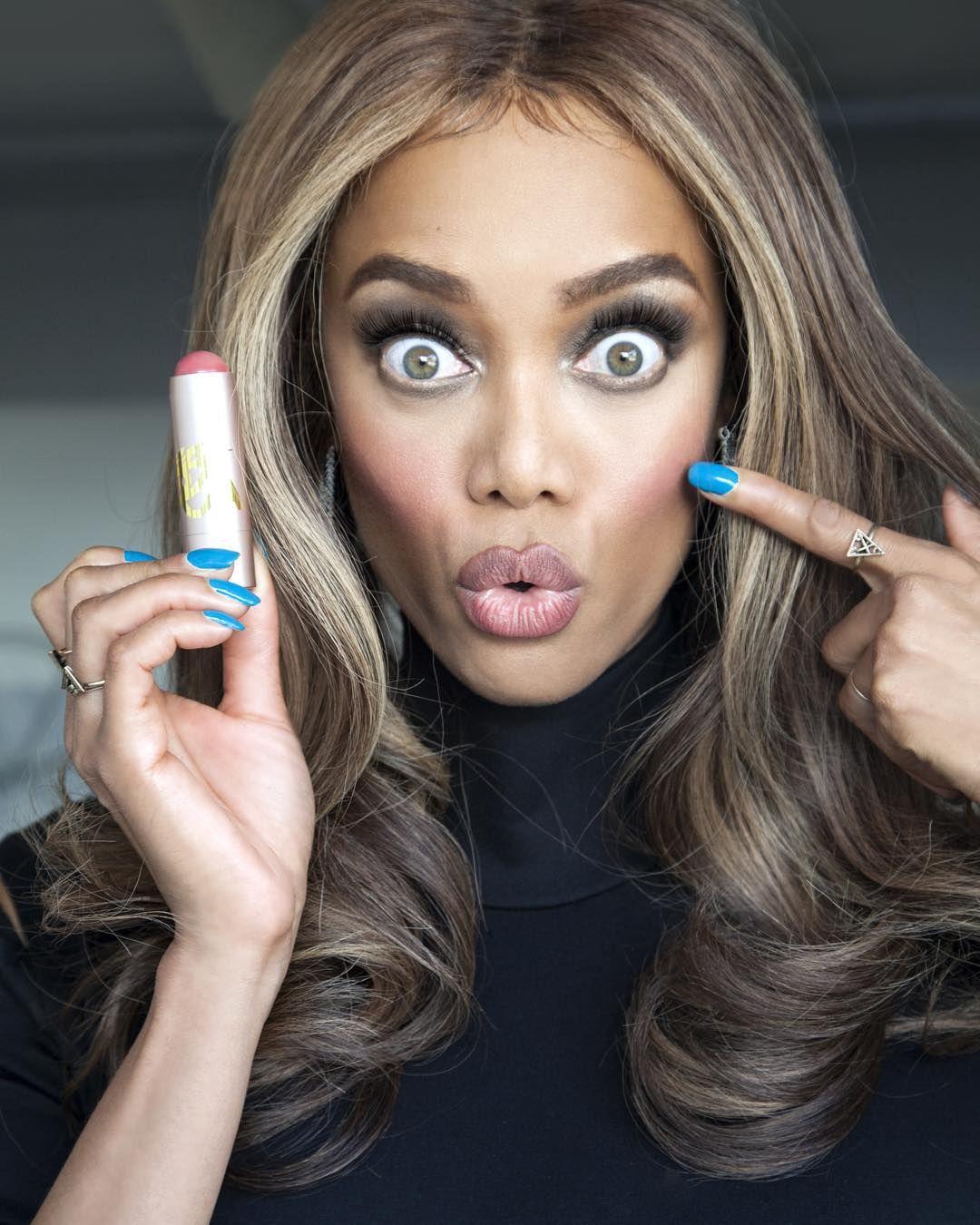 Tyra Banks Created Makeup for 'Chocolate' Girls to Contour
