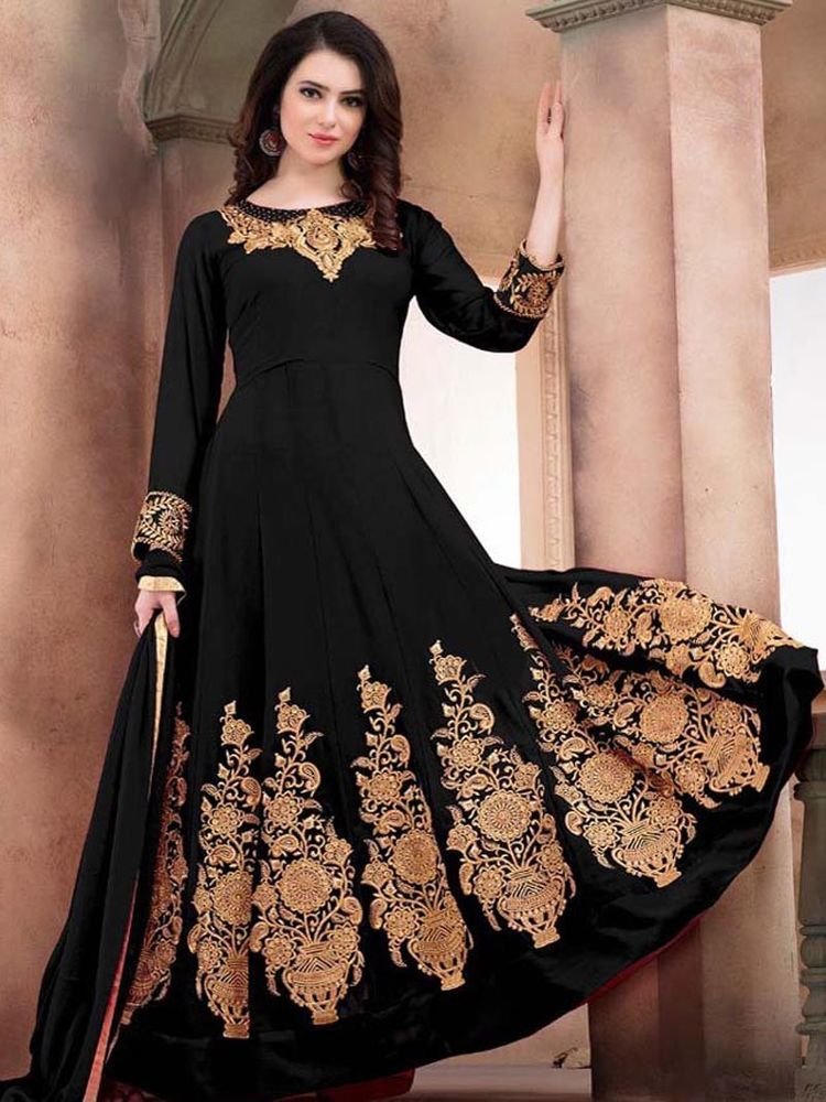 cd9cfefb38 #Pakistani #Indian #Black Salwar Kameez #Wedding Partywear Bollywood Anarkali  Dress #Shoppingover #Salwarkameez #WeddingPartywearEid