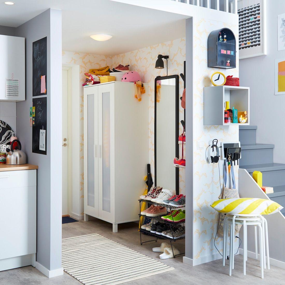 Deco Entree Notre Galerie De Photos Salon En 2020 Couloir Ikea