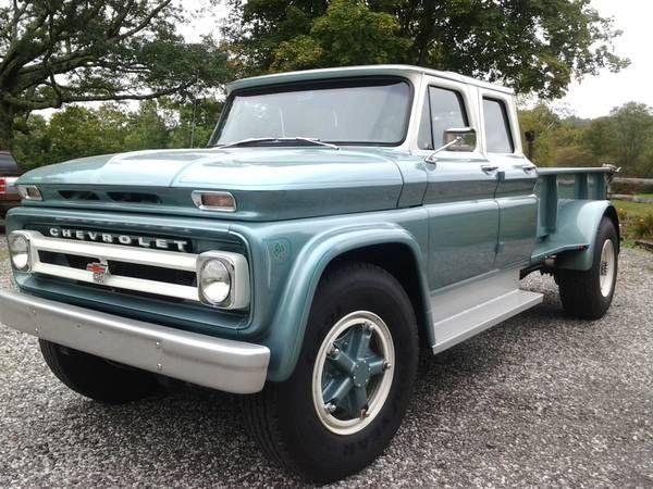 Custom Built 1966 Chevrolet C60 Crew Cab Pick-Up   http