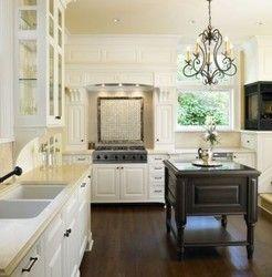 white and hard wood floors
