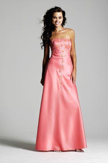 prom hairstyles for strapless dresses | Wedding Expert | Pinterest ...