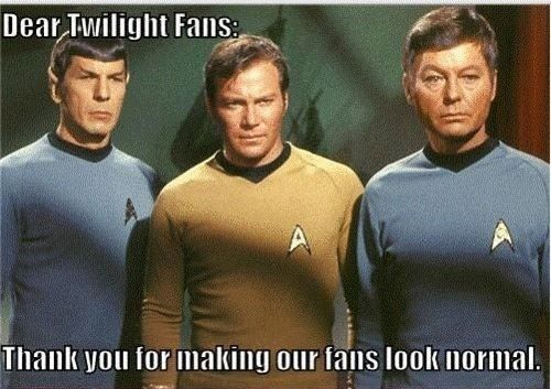 I include Star Wars fans in this as well... Trekkies are by far the most subdued.