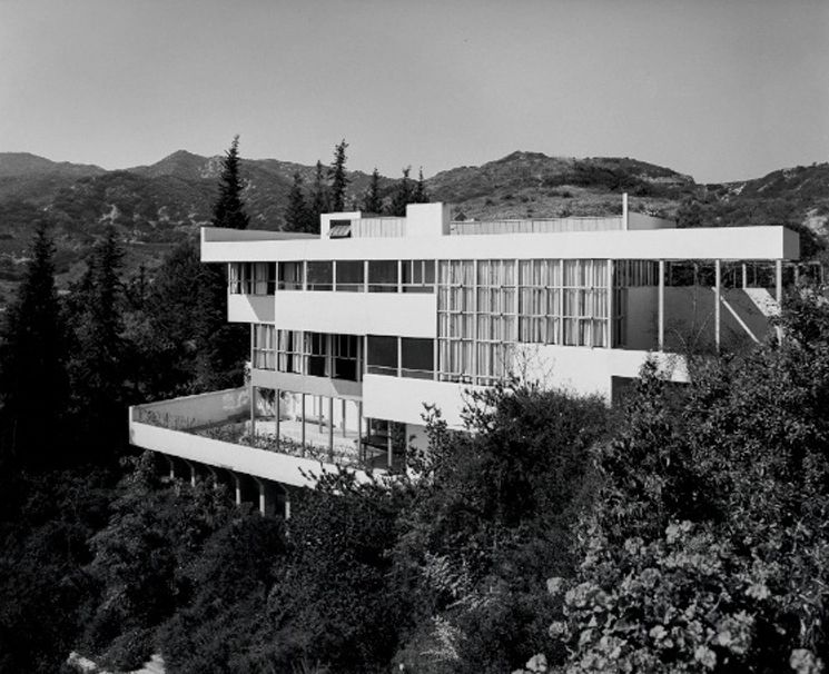 Mid Century Architecture Icons The Neutra Lovell House