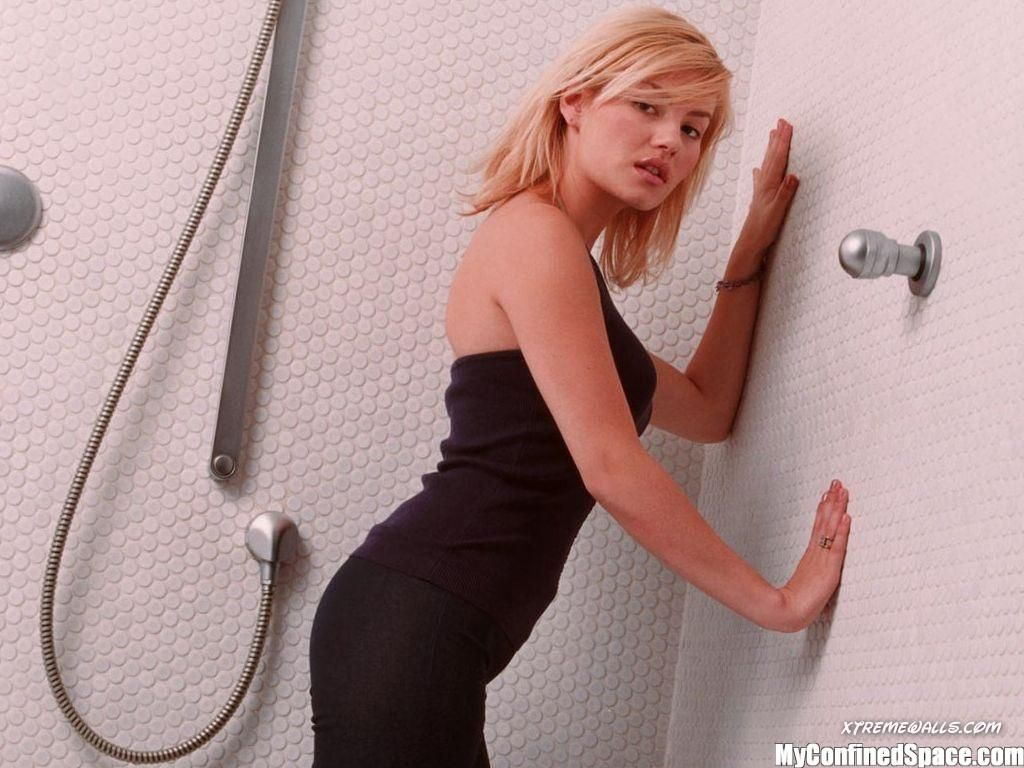 Amusing girls next door shower topic