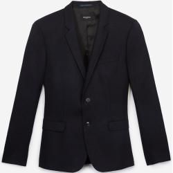 Photo of The Kooples black wool jacket with elbow patches – Damenthekooples.com