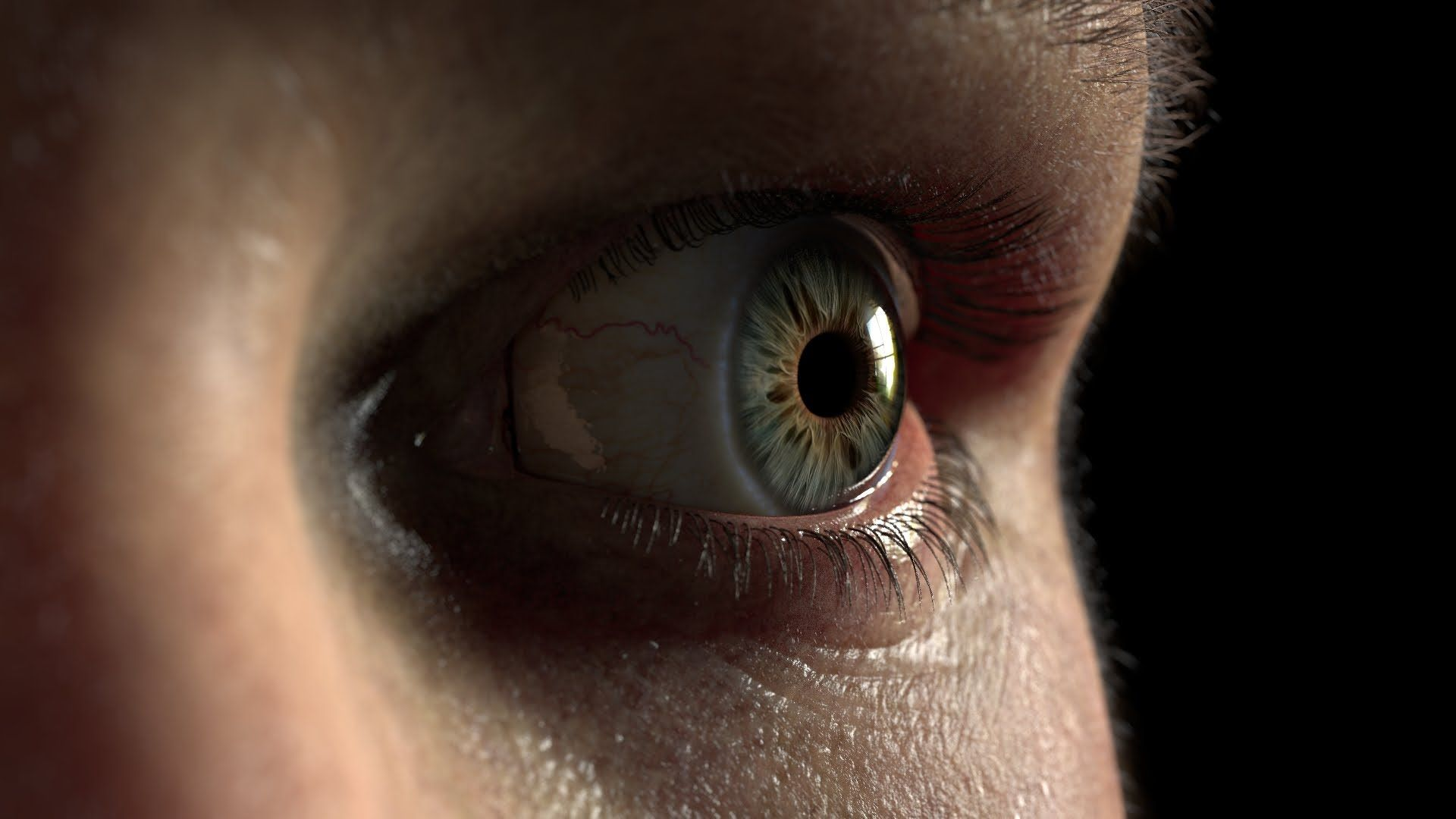 Eye Piece 3d Modeling Pinterest Eye Rigs And Animation