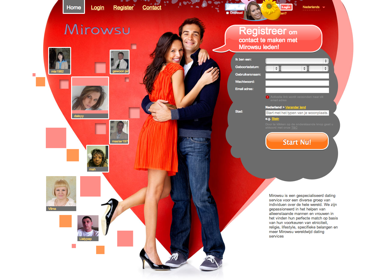Dating site special offers