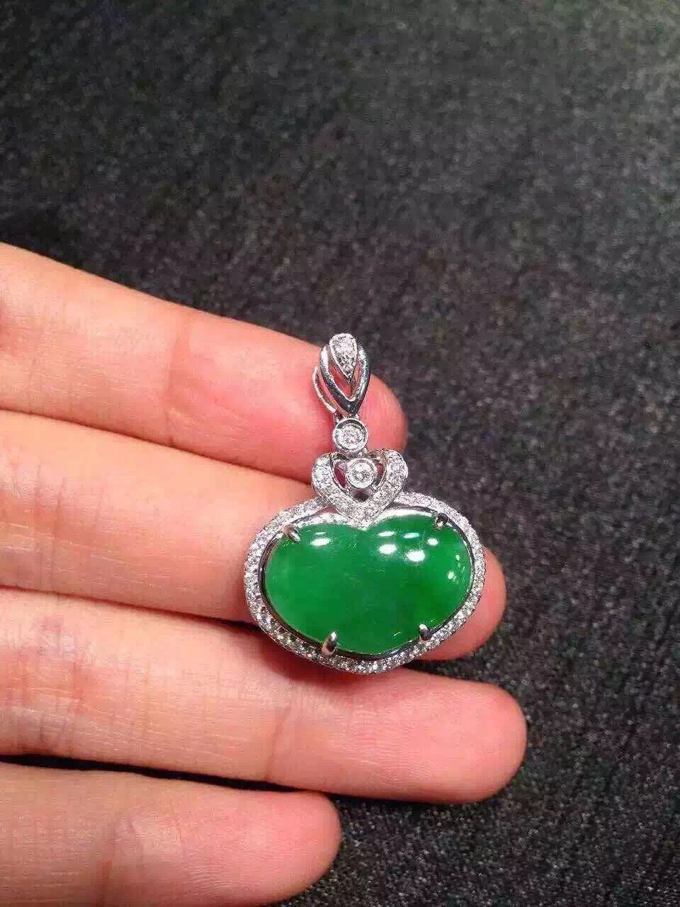 Clear royal green heart shaped jade pendant 3k jade pendant clear royal green heart shaped jade pendant 3k mozeypictures Choice Image