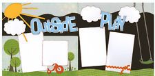 Out On A Limb Scrapbooking Premade Page Kit - Outside Play