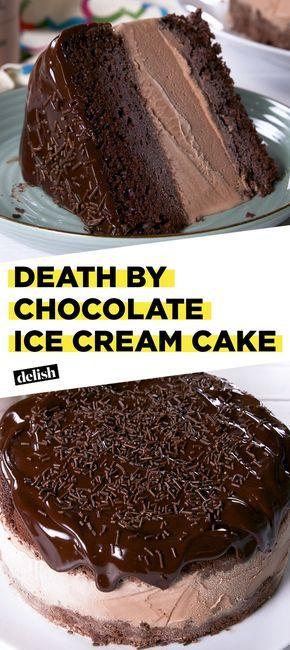 Death By Chocolate Ice Cream Cake Tastes Like Heaven