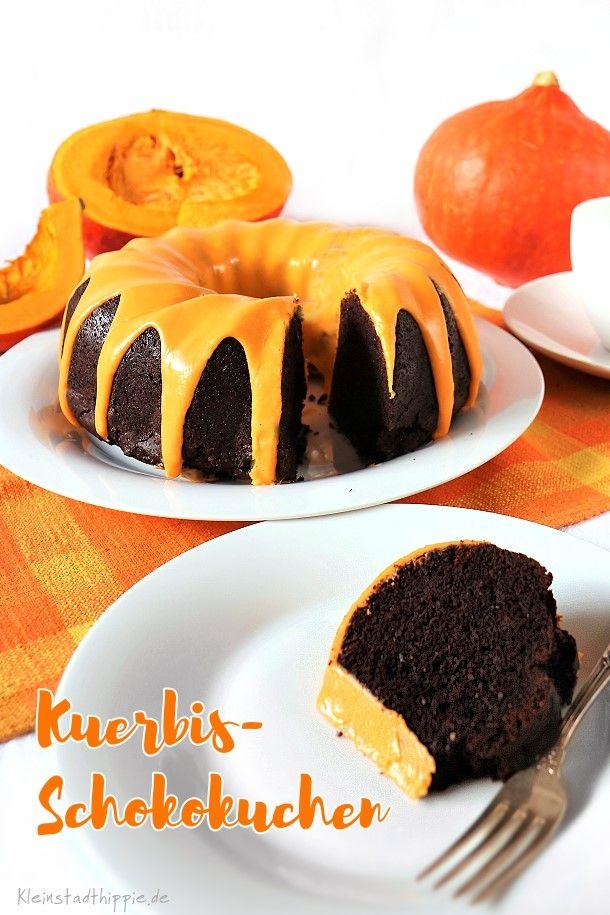 Kurbis Schokokuchen Kuchen Torten Cupcakes Muffins Vegan Backen