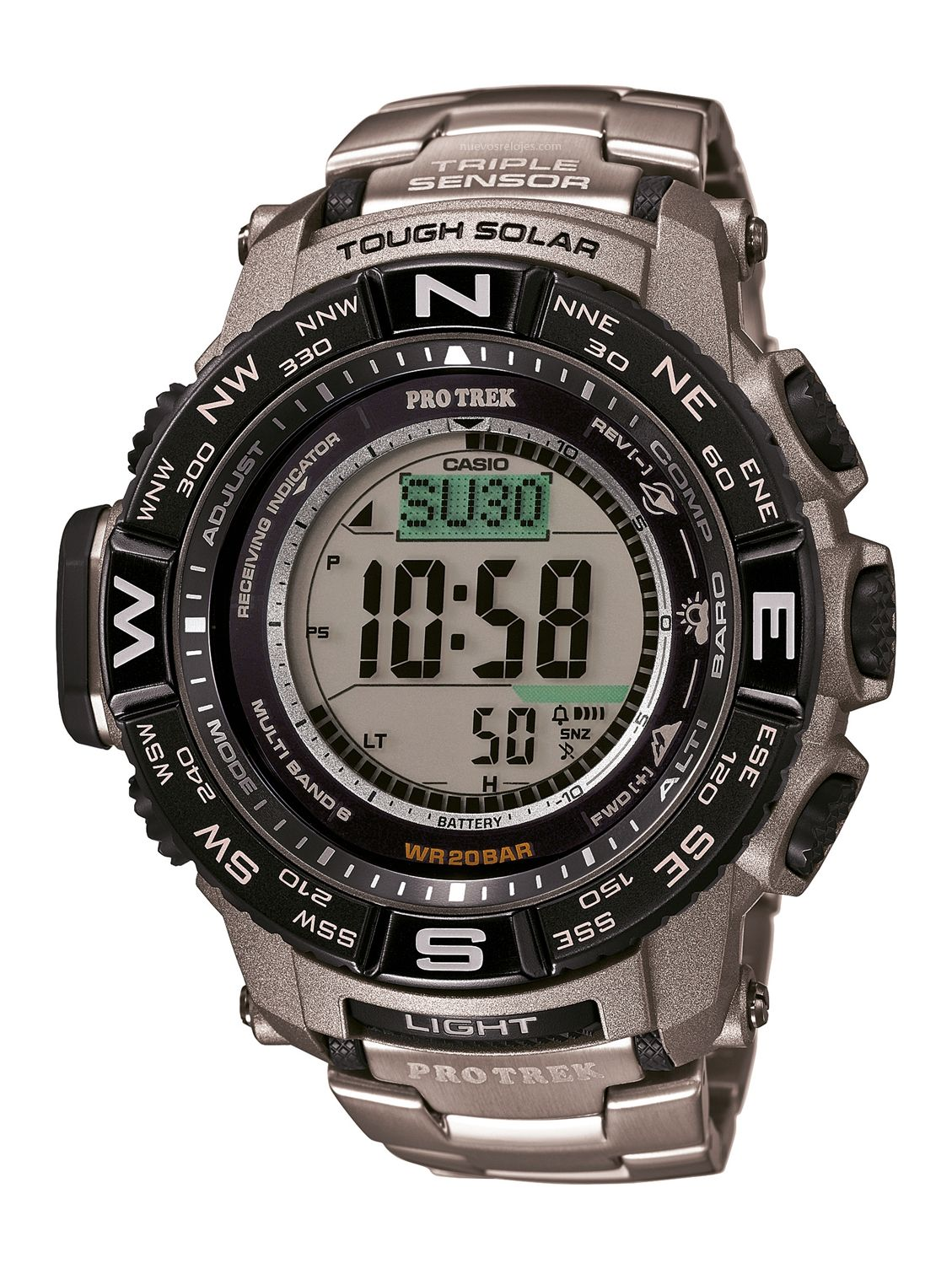 647a0d4912f4 CASIO PRO TREK PRW-3500t-7ER Relojes Deportivos Hombre