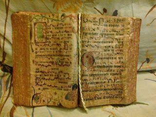 Las manualidades de Turroncita: codices